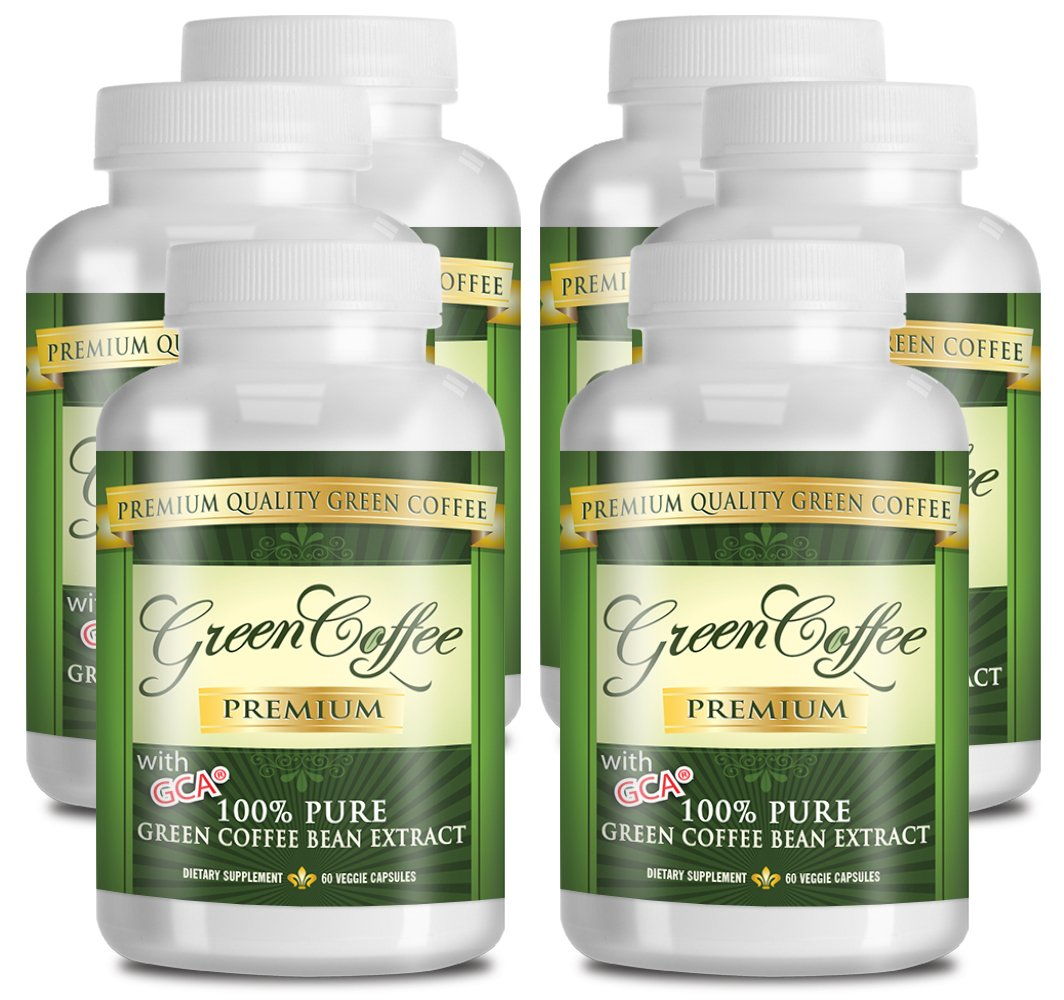 Green Coffee Bean Extract 100% PURE - 50% Chlorogenic Acid - 60 Capsules - Quick Fat Burner by Green Coffee Premium (Image #6)