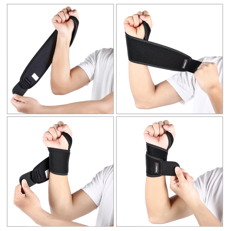 Muñequera para la calistenia, evitar dolor y lesiones