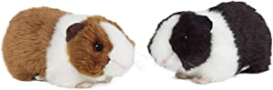 Living Nature Soft Toy - Plush Pet Guinea Pig with Sound, One Supplied (20cm)