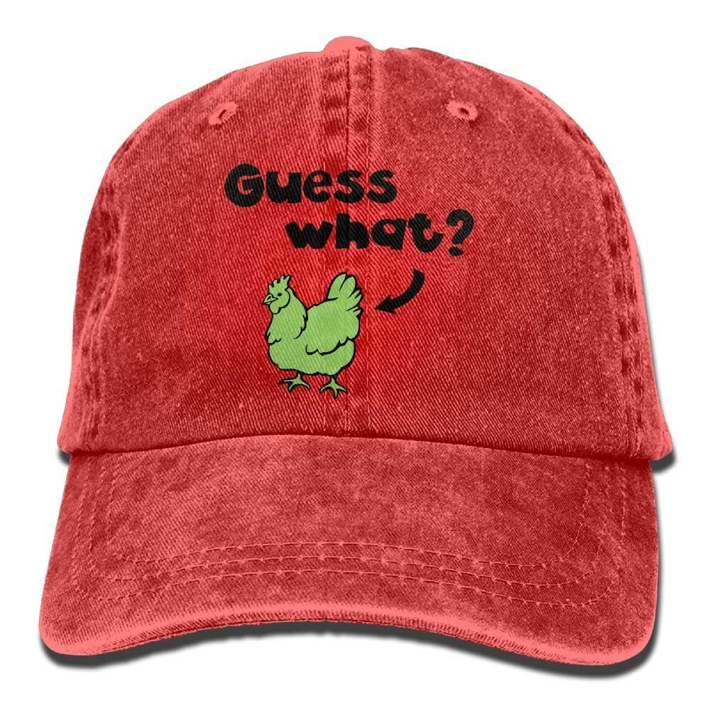 Hat Guess What Chicken Butt Denim Skull Cap Cowboy Cowgirl Sport ...