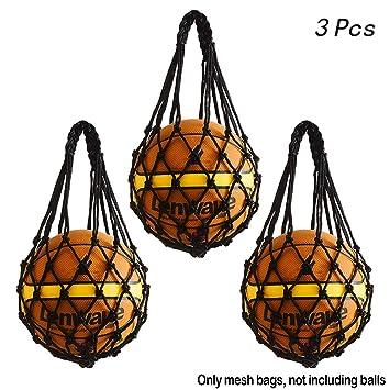 hatisan - Bolsa de Malla para balón de Baloncesto Multifuncional ...