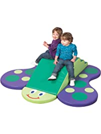 "Children's Factory Butterfly Climber, 60"" by 52"" by 12"" – 4-Piece Climber for Babies and Toddlers to Improve Crawling..."