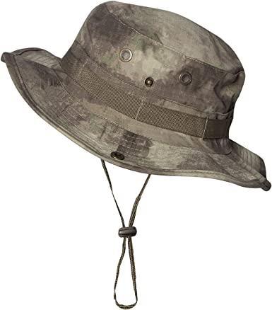 Ej/ército Militar Bucket Boonie Hat Fishing Camping Senderismo Ligero