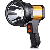 Buysight 6000-Lumen Rechargeable Spotlight