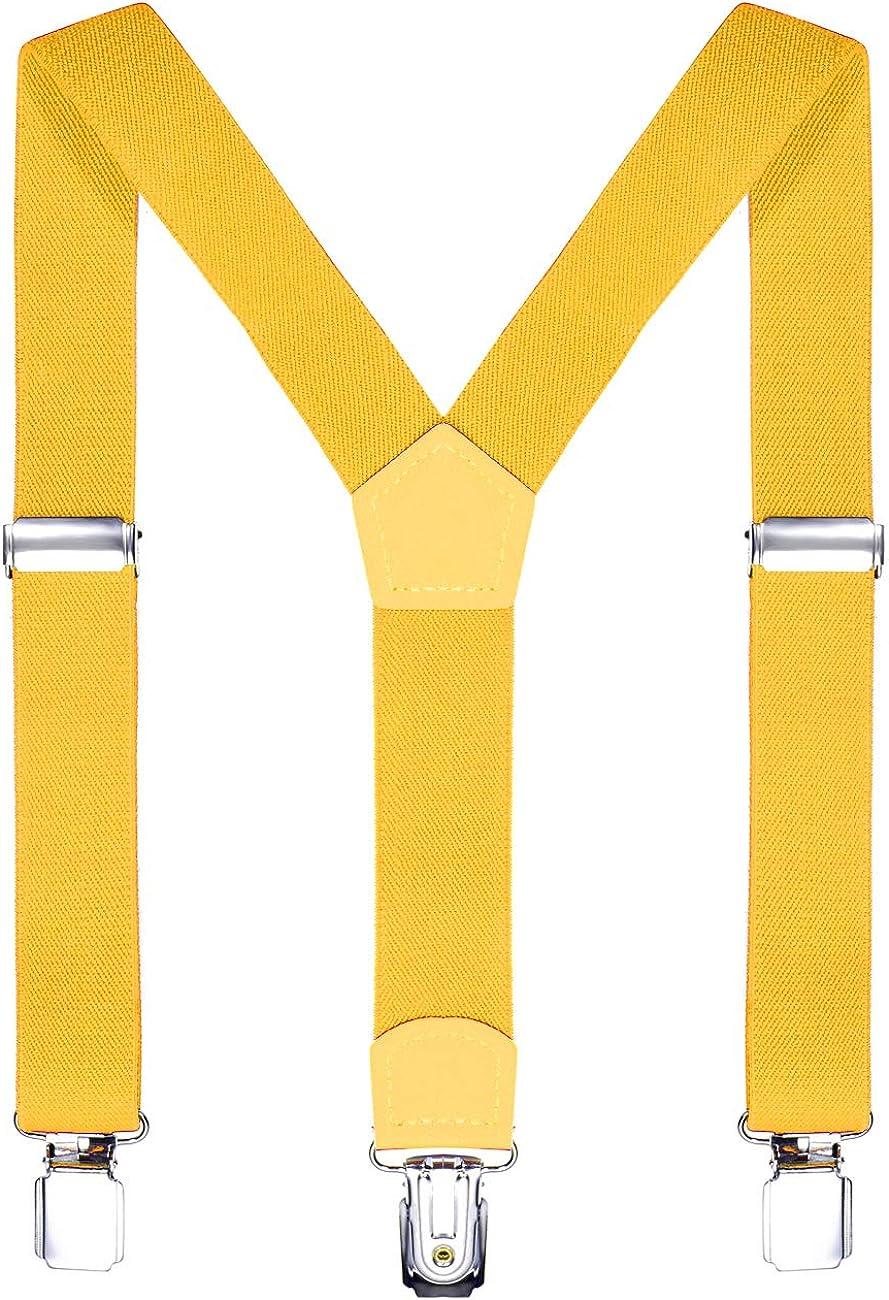 DonDon Bretelle bambino 2 cm fini e regolabili altezza 80-110 cm 1-5 anni