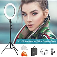 Neewer LED Ring Light Dimmable for Camera Photo Video