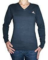 Adidas V-Neck Sweater Women's Organic Cotton Jumper