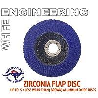Abrasive 4'' 100MM Metal Sanding Flap Discs Angle Grinder Wheels Zirconia (QTY 10 PCS Grit40,60,80 & 120) (Grit 80: QTY :10PCS)