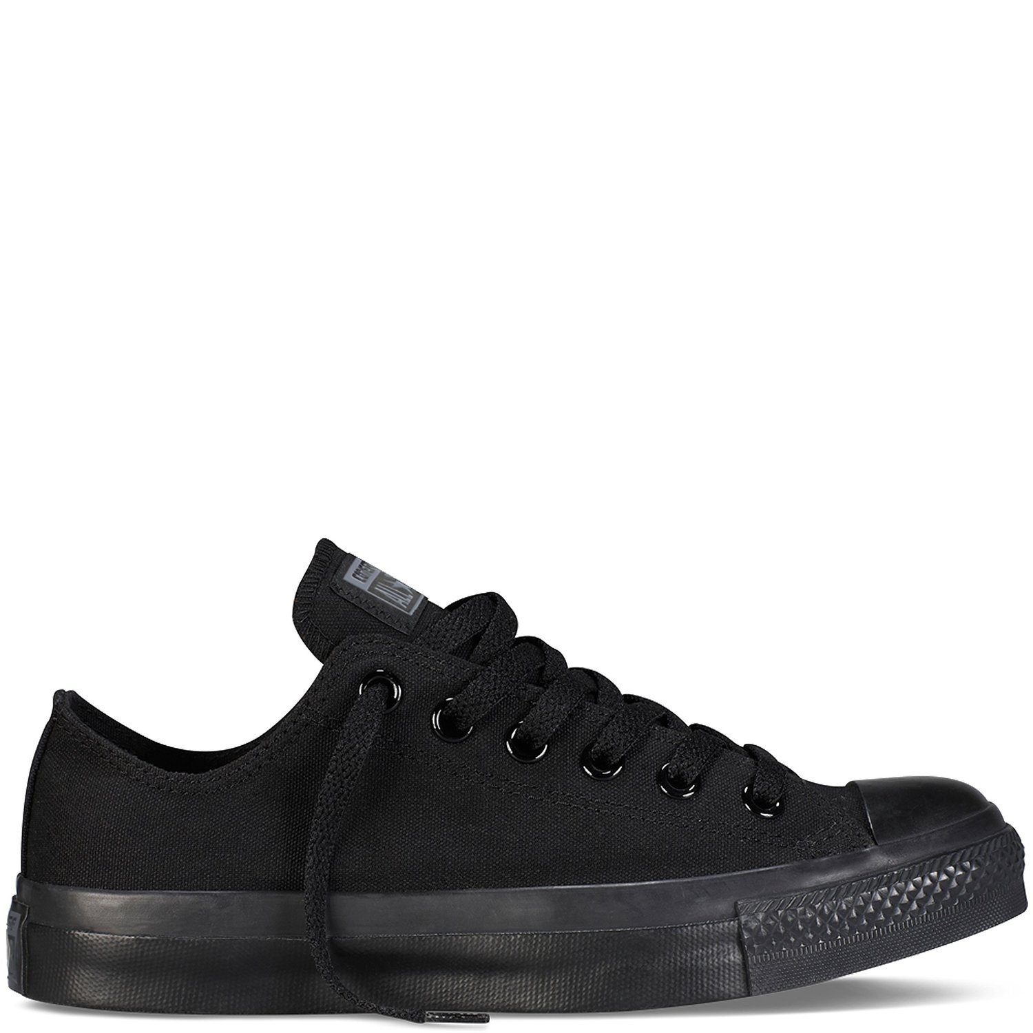 Converse Unisex Chuck Taylor All Star Ox Low Top Classic Black Monochrome Sneakers - 10.5 D(M) US