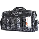 "NPUSA Mens Large 26"" Duffel Duffle Military Molle Tactical Gear Shoulder Strap Travel Bag"