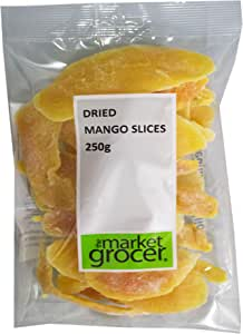The Market Grocer Dried Mango Slices, 250 g