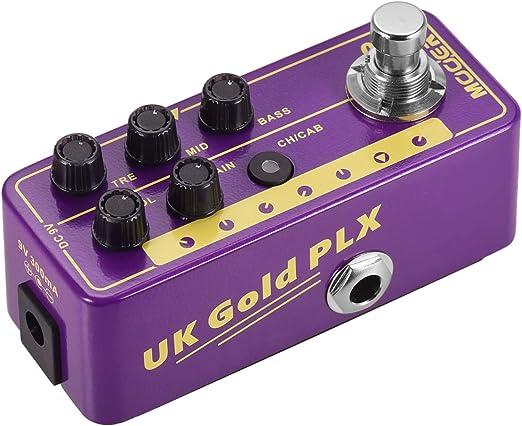 WSMLA Zoom guitarra eléctrica Multi Serie 019 Efecto de oro de ...