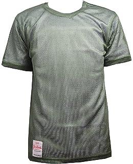Mens Premium Mesh Fishnet String Short Sleeve Oversized T-Shirt Loose Fit Top