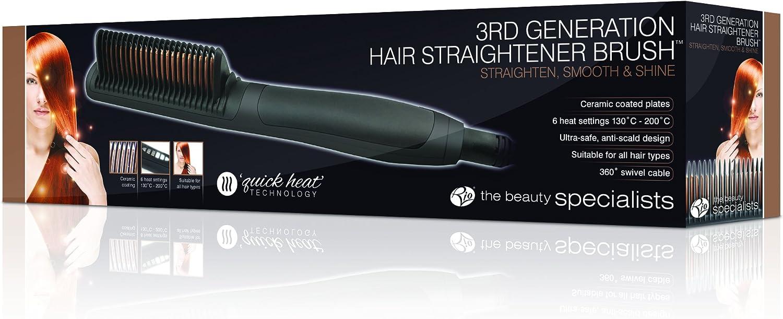 Rio Pro Hair Straightener Brush: Amazon.co.uk: Health