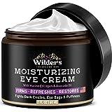 Moisturizing Men's Eye Cream - Eye Firming & Refreshing Men's Wrinkle Cream - Made in USA - Men's Anti-Aging Cream for Dark U