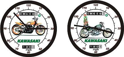 Kawasaki W650 Flat Track Racer pared clock-chose de 2-free nos barco.