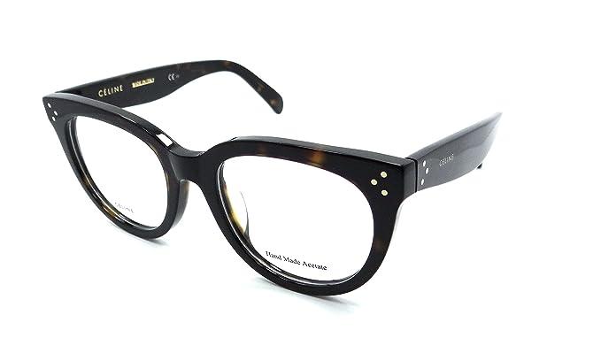 Celine Rx Eyeglasses Frames CL 41388/F 086 51-20-145 Dark Havana ...
