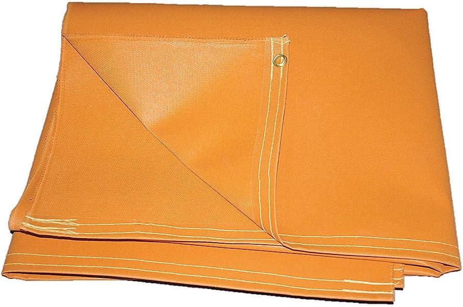 6 ft Hi Temp 5 ft Welding Curtain W O51-5X6-20-B Orange