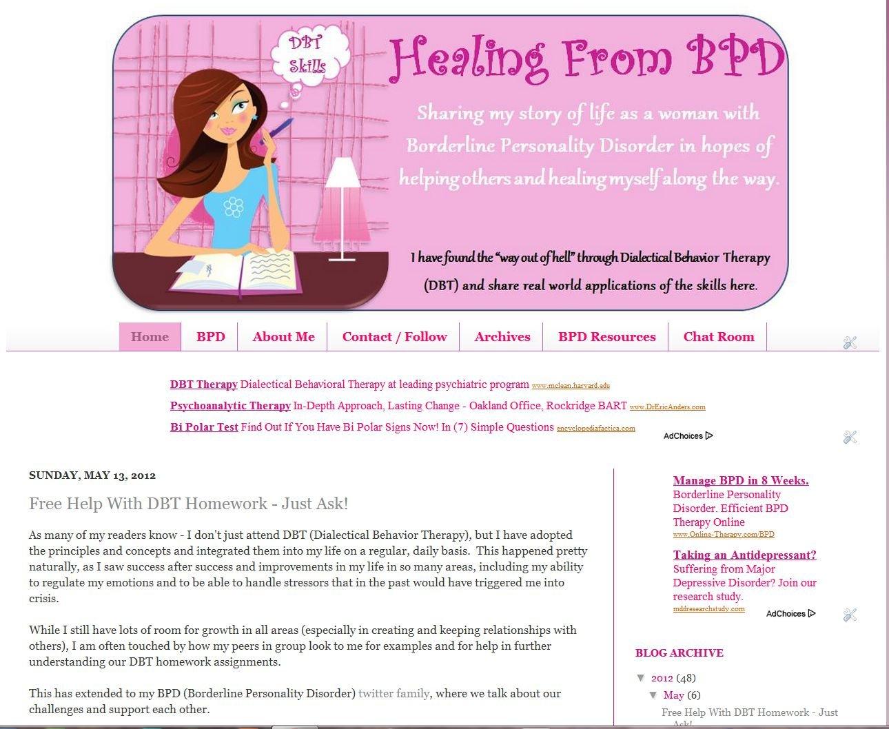 Amazon.com: Healing From BPD (Borderline Personality ...