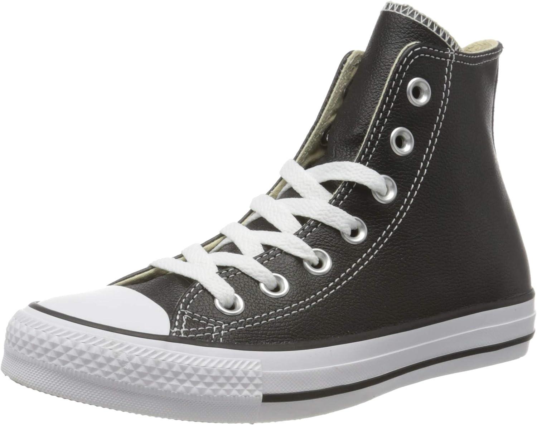 Converse Chuck Taylor All Star Core Lea Hi, Baskets mode mixte adulte