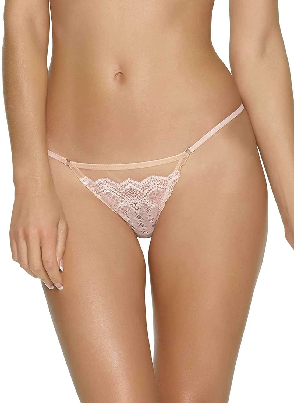 530060 Medium, Fawn//Hushed Pink Unveiled by Felina Argentella Thong