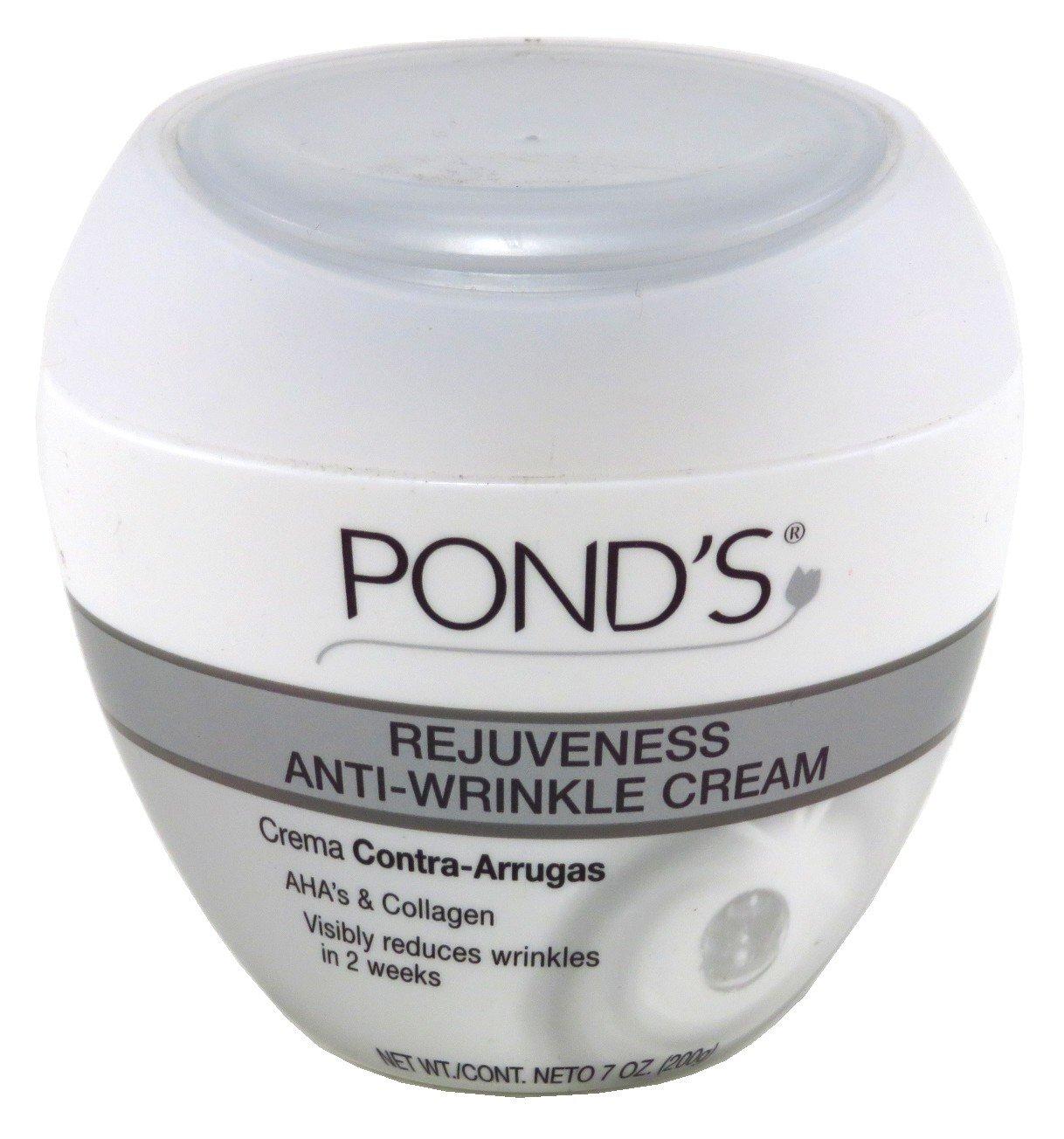 Ponds Rejuveness Anti-Wrinkle Cream 7 Ounce (207ml) (3 Pack) Pond' s