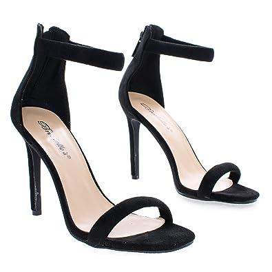 992e1457605dd Swagger02 Black High Heel Sandal-7.5