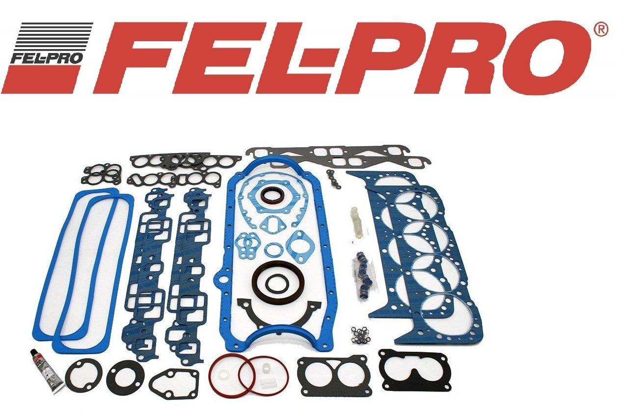 Sealed Power 2601000 Gasket Set Automotive Head Diagram Further Chevy 3 1 Engine Intake Manifold Fel Pro 260 1478 Sbc Complete Overhaul Kit 350 57l 86