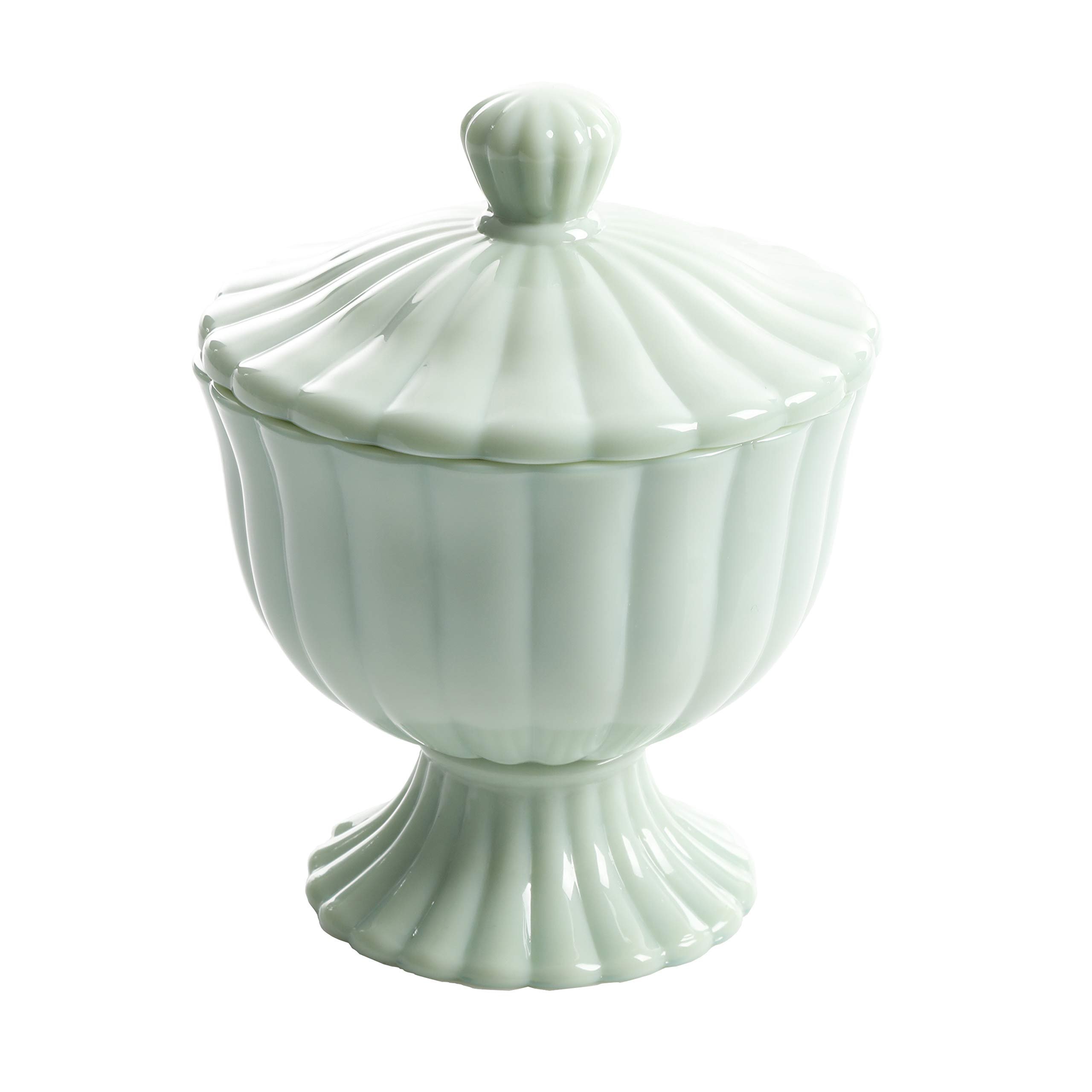 The Pioneer Woman''Timeless Beauty'' Jade Candy Dish 5.32 in