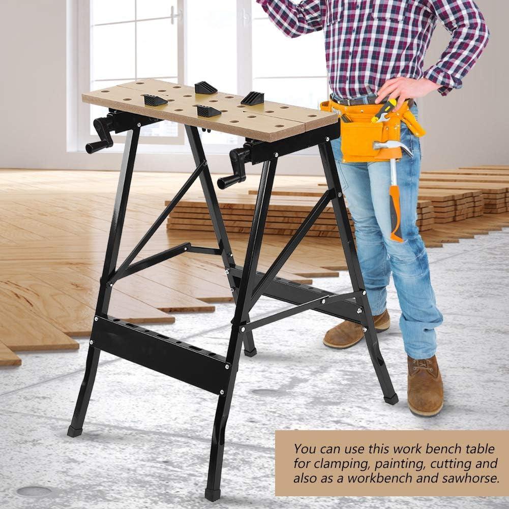 /Établi pliant en bois robuste 150 kg