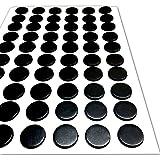 60 Autoadhesivo Pequeño Magnético Lunares Imanes 12mm Disco Redondo Grueso Adhesivo Manualidades