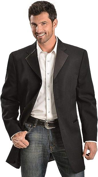Circle S Mens Black Abilene Sports Coat