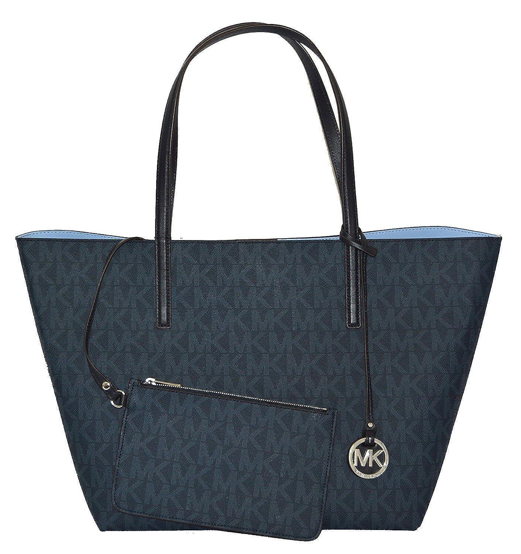 44b92f147fbf Michael Kors Hayley Large Tote, Bl Blue/Light Sky: Handbags: Amazon.com