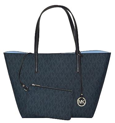 d4fd0df5cf3c Michael Kors Hayley Large Tote, Bl Blue/Light Sky: Handbags: Amazon.com