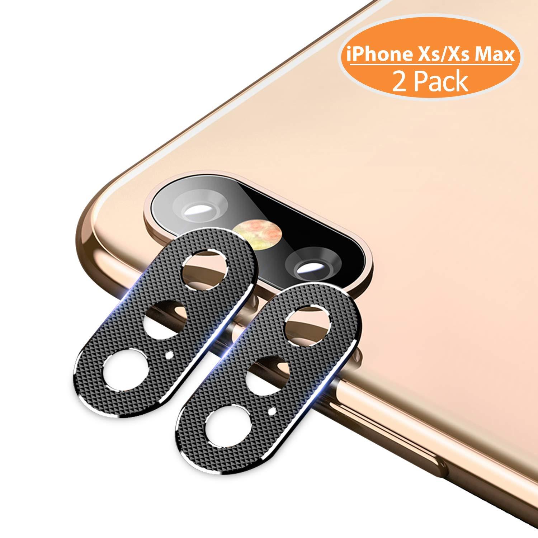 2 protectores de lentes para iphone xs max
