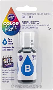 Wilton Color Right Food Color System Refill, .7oz, Blue