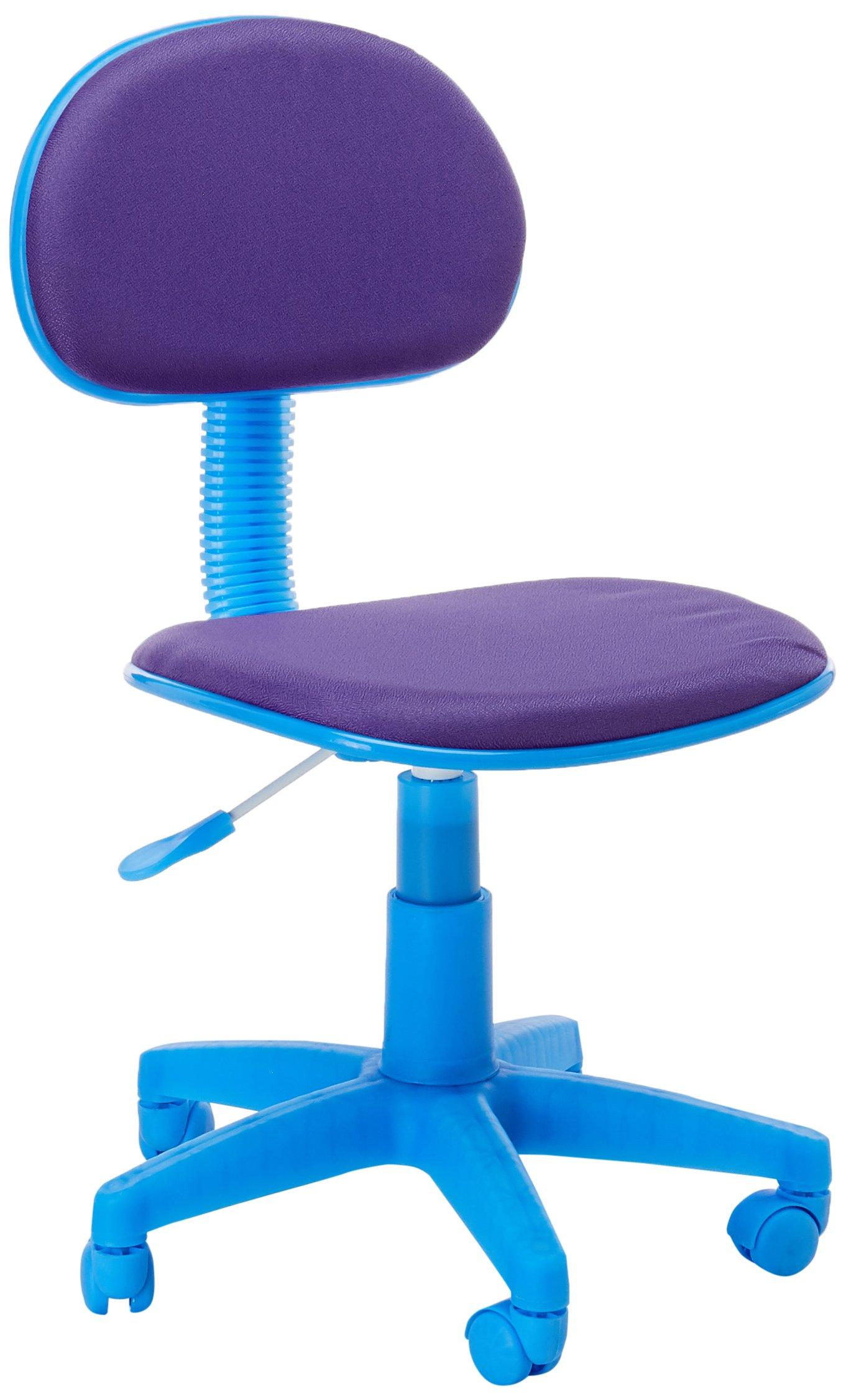 Flash Furniture Purple Fabric Swivel Task Chair