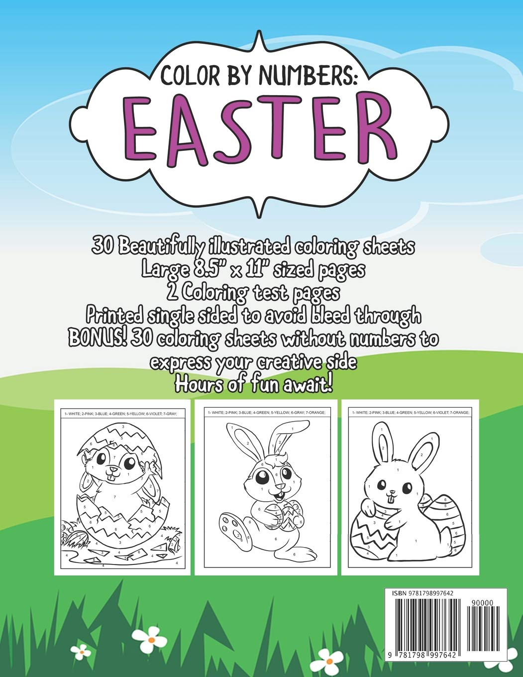 20 Best Easter Coloring Pages for Kids - Easter Crafts for Children | 1360x1051