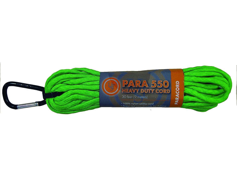 Ultimate Survival Technologies Paracord 550 30 Füße (Lime)