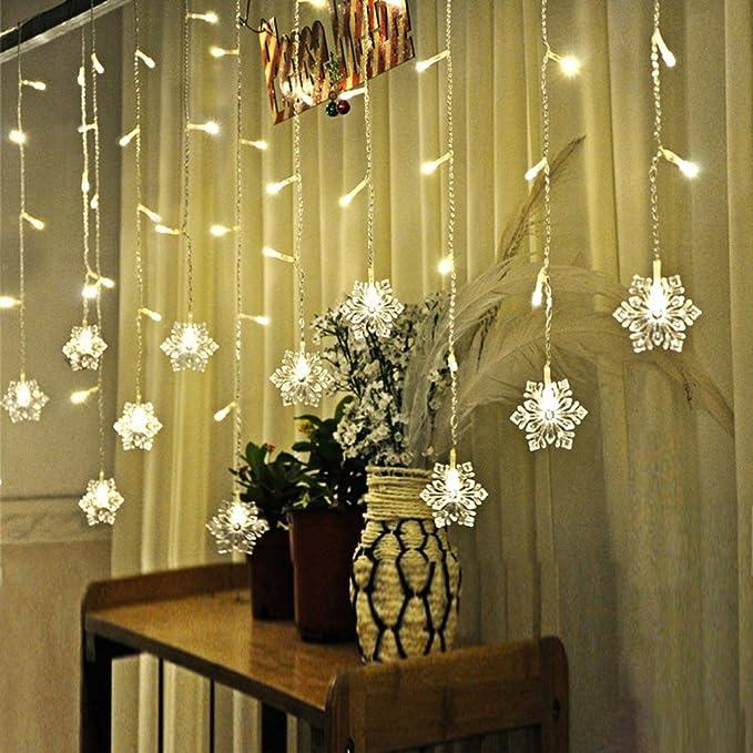 17 opinioni per XGUO 3.5M 96 LED Luci Natalizie Catene Luminose led Spina di EU luci decorative