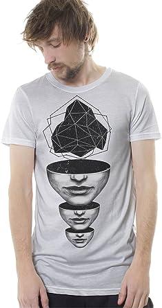 Camiseta Estampada Master Mind con Arte gráfico Mise en Abyme - Ropa Urbana para Hombre: Amazon.es: Ropa y accesorios