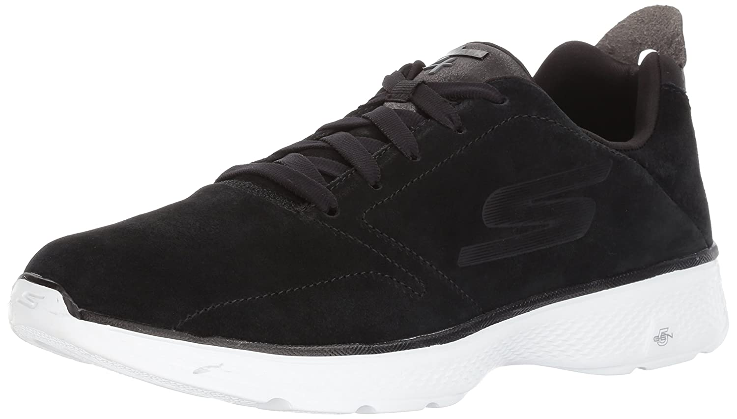 Skechers Performance Men's Go Walk 4 Acclaim Walking Shoe 11.5 D(M) US|Black/White