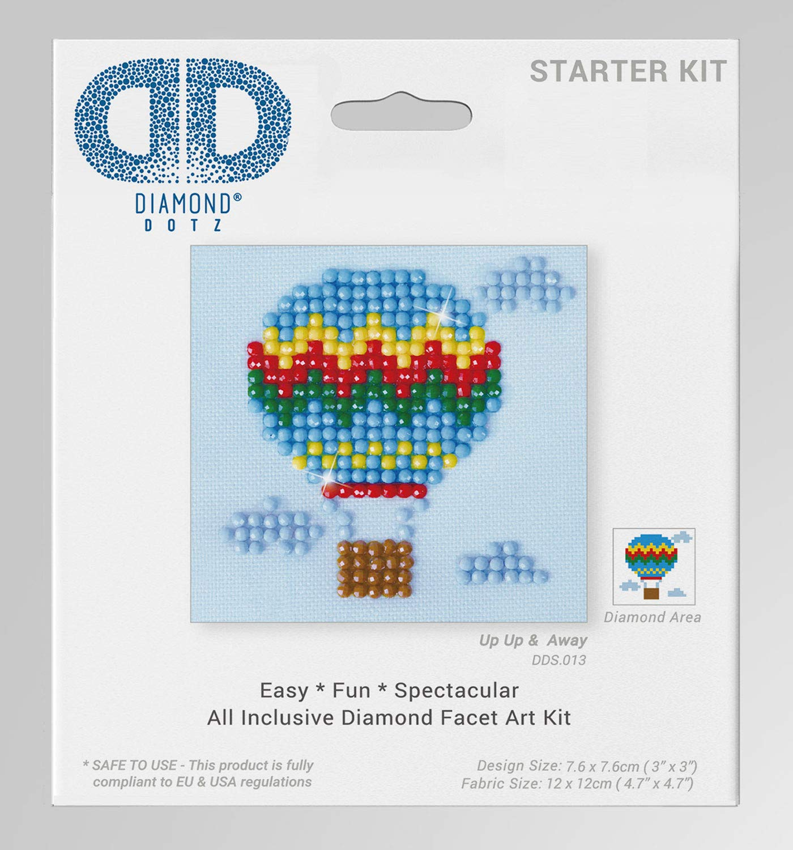 7,6 x 7,6 cm Needleart World DDS.013 Kit Loisirs Cr/éatifs R/ésine Multicolore