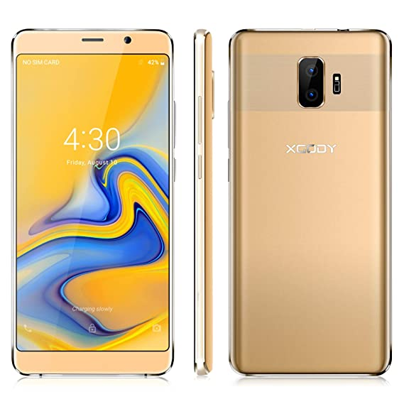 Xgody 6 Inch Android 8 1 Cellphones Unlocked ROM 8GB+RAM 1GB Telefonos  Desbloqueados Screen Dual Camera Support 2G/3G Network for T-Mobile/AT&T  Other