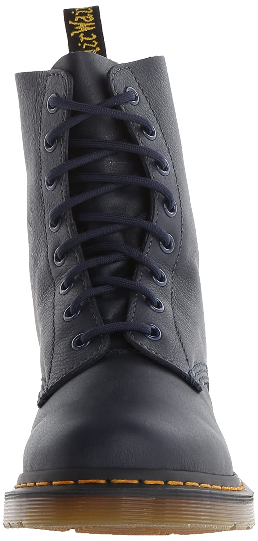 Dr. Martens Women's Pascal Leather Combat Boot B00IJNKNHU 8 M US|Dress Blues