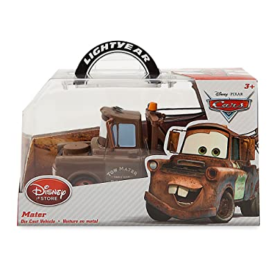 Cars Tow Mater Truck Disney Pixar Diecast Toy Collector Vehicle Die-Cast 1:43 Scale Movie Merchandise: Toys & Games