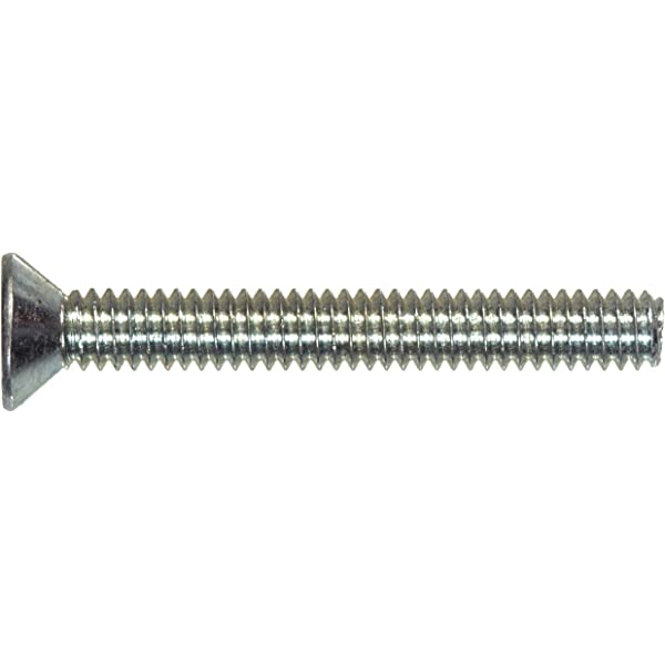 The Hillman Group 41577 Hex Machine Screw Nut 6-32 100-Pack