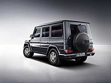 Mercedes Benz G Class (2013) Car Poster Print On 10 Mil Archival