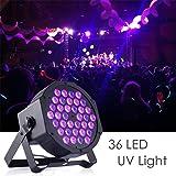 Gledto 36 W 36 LEDs DJ Disco LED UV Lámpara de Escena Morado Proyector Bar Wall Washer Light para Escena Estadio KTV Party Pub Club Disco Show Concert Festival Manifestación