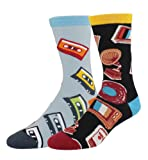 Amazon Price History for:Happypop Men's Cool Crazy Pattern Novelty Funny Cotton Crew Dress Socks